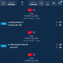 Handball Live Score