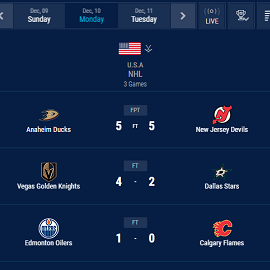 ice hockey livescores