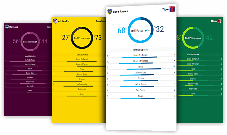 soccer live match statistics desktop and mobile